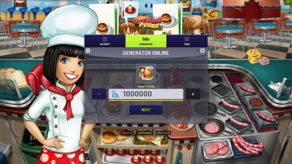 Cooking fever game facebook