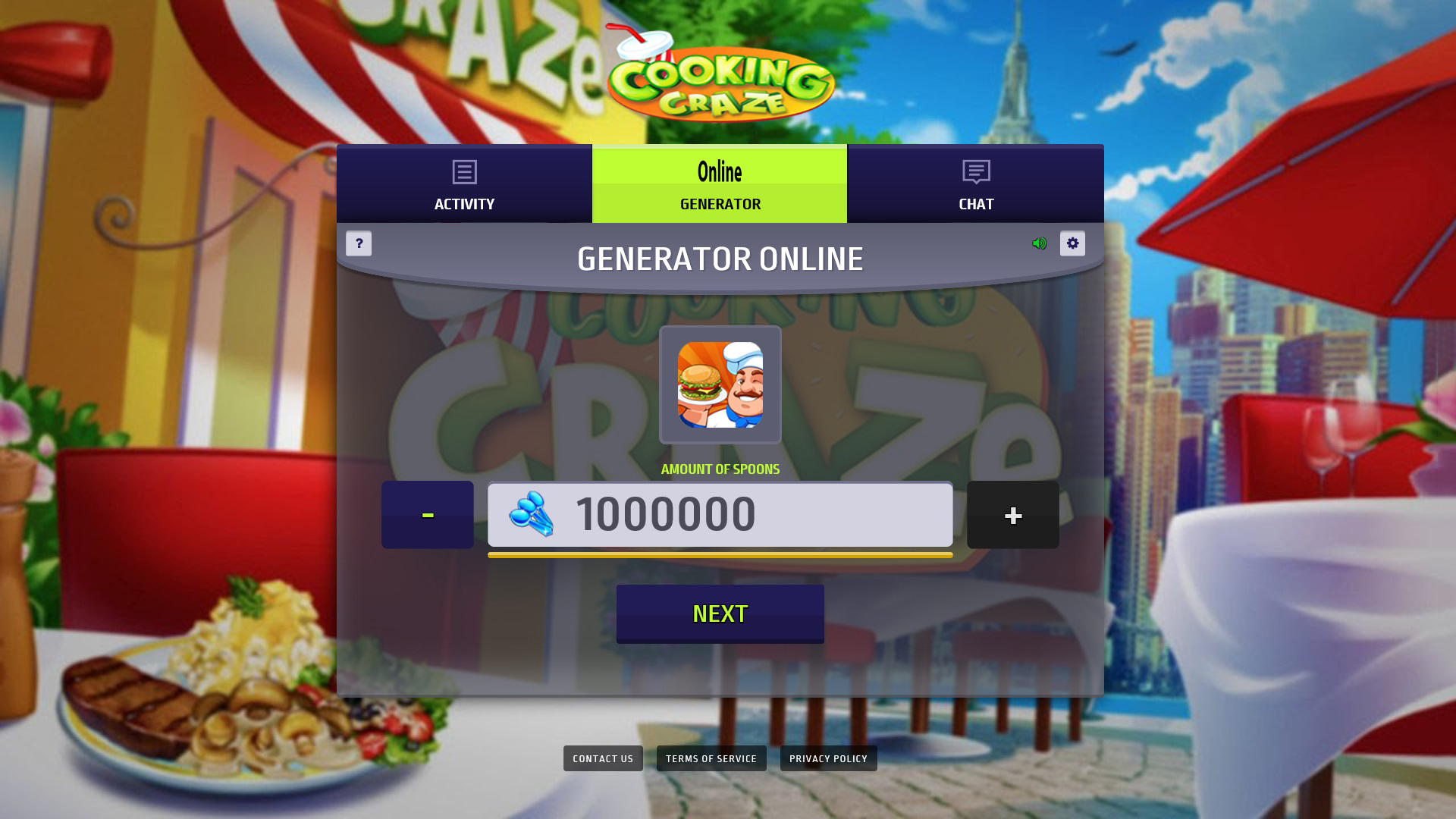 Cooking Craze Hack Online Preview