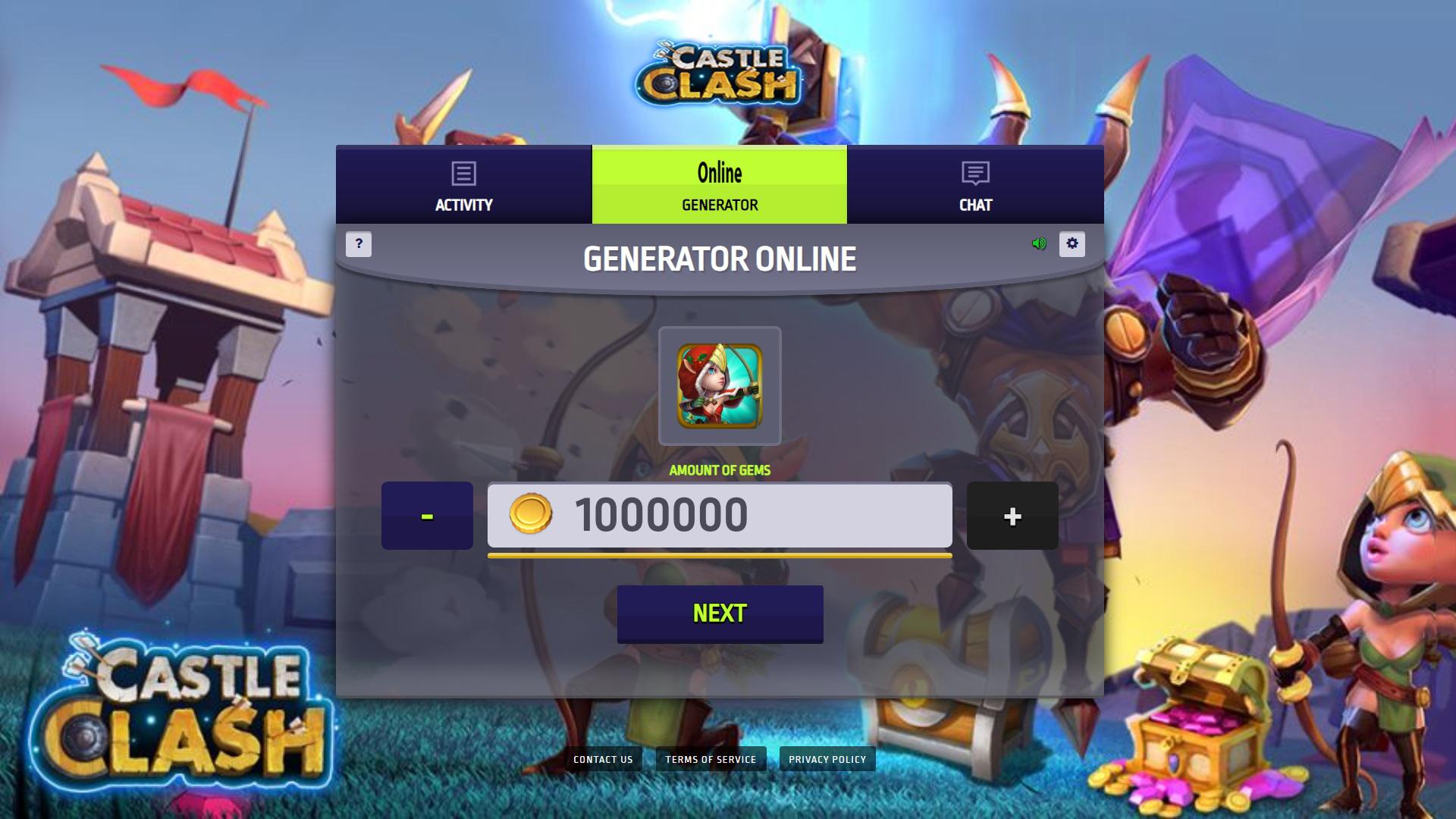 Castle Clash Hack Mod Gems And Gold Unlimited Game Online Generator